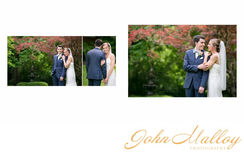 Romantic Wedding Portraits, Stone Mill Inn