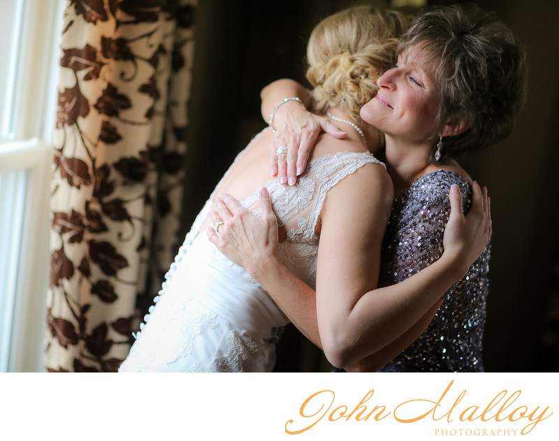 Loving Mother-Daughter Embrace
