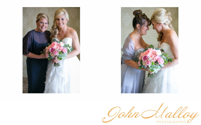 Bridal Portrait with Mother and Mother-in-Law