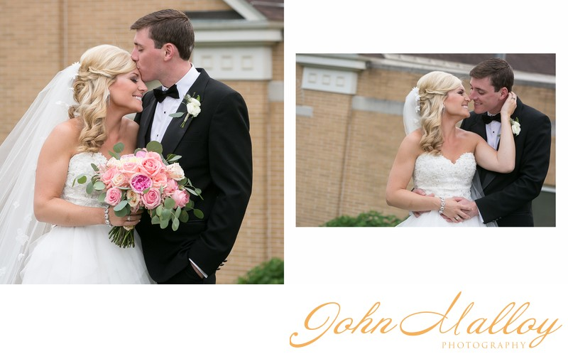 Kissing Bridal Portraits, Lancaster PA