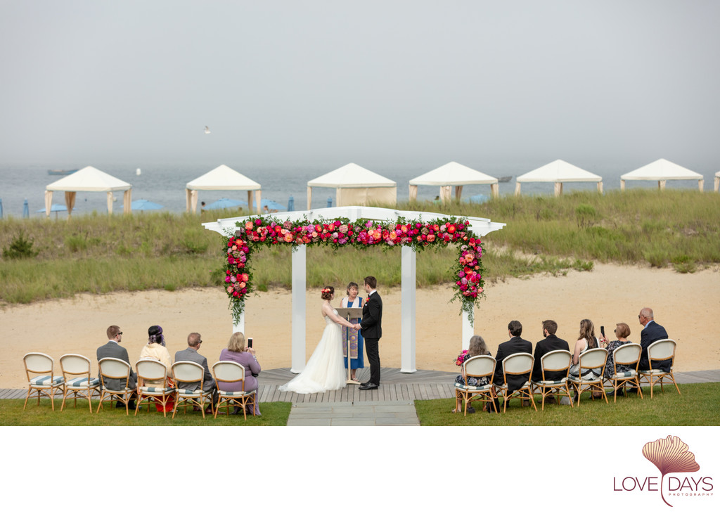 Intimate CBI Wedding