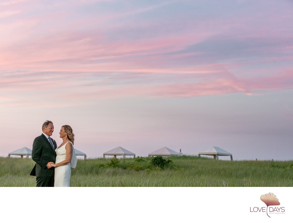 Sunset  Bridal Portraits at CBI