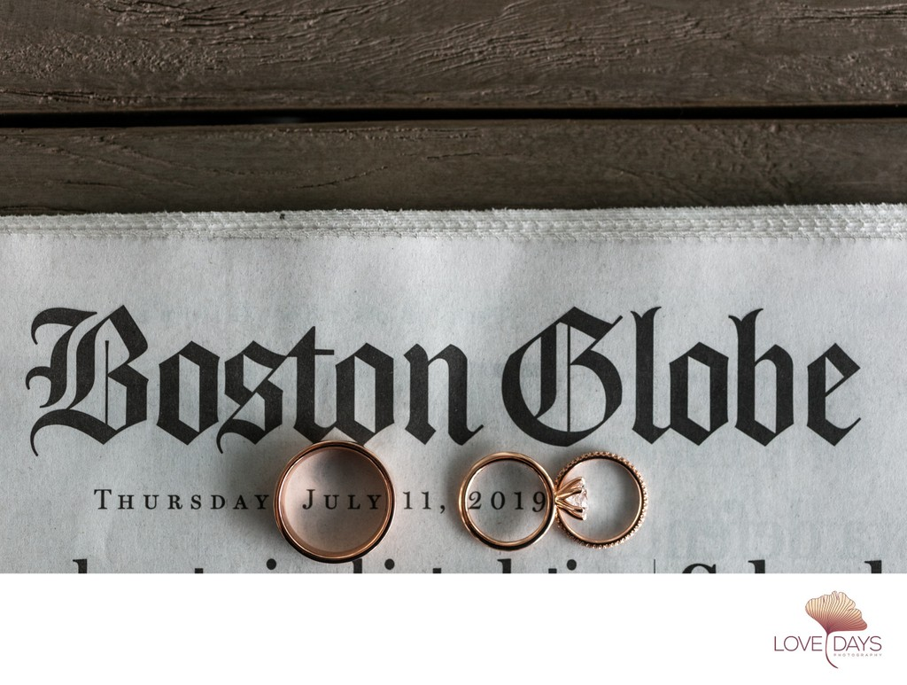 Cape Cod Wedding Rings at CBI