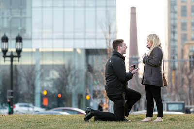 Boston Proposal Photography