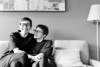 Amazing same sex family photography