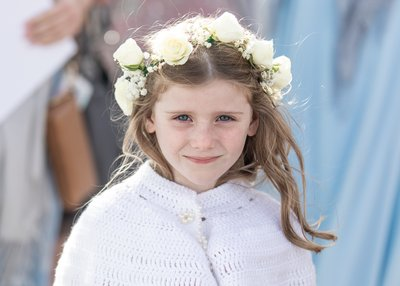 Chatham Bars Inn Wedding Flower Girl