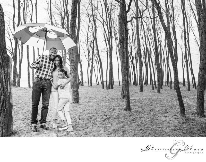 Seattle Portrait Glimmer Glass Engagement