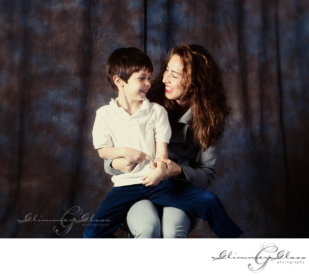 Mother and Son Photograph