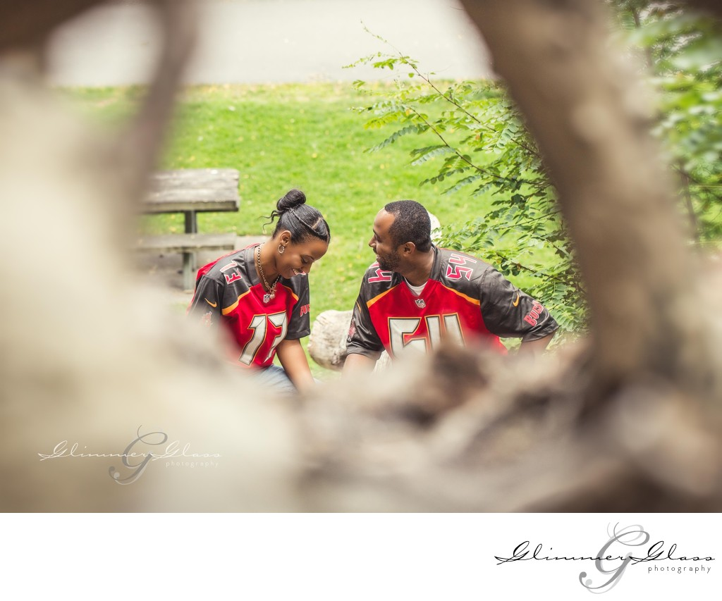 engagement session at Lincoln Park