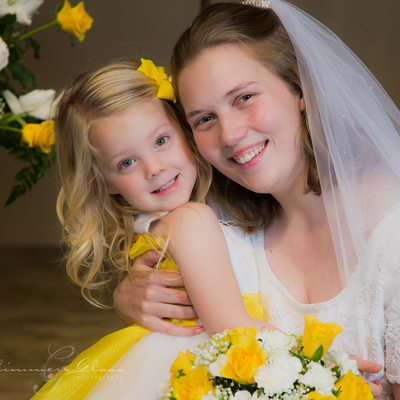 The beautiful bride Photograph
