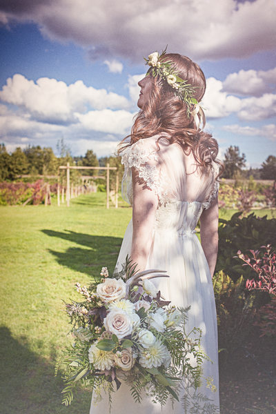 Bridal Portrait Outdoor Ethereal