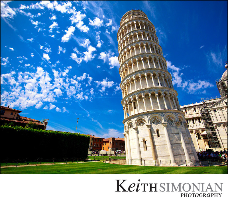 Leaning Tower of Pisa - Field of Miracles - Pisa Italy