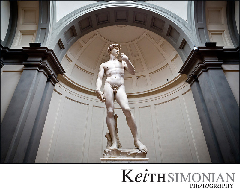 Michelangelo the David Accademia Gallery Florence Italy