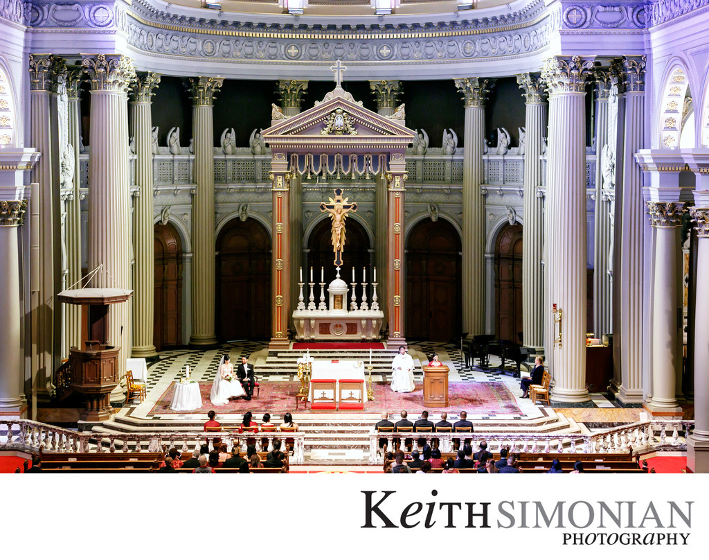 St Ignatius Church Wedding Photographer