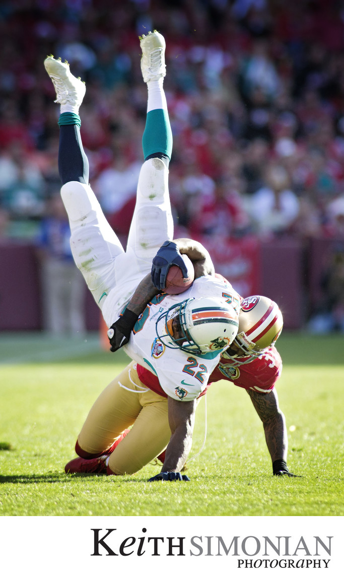 San Francisco 49ers vs Miami Dolphins - Candlestick Park