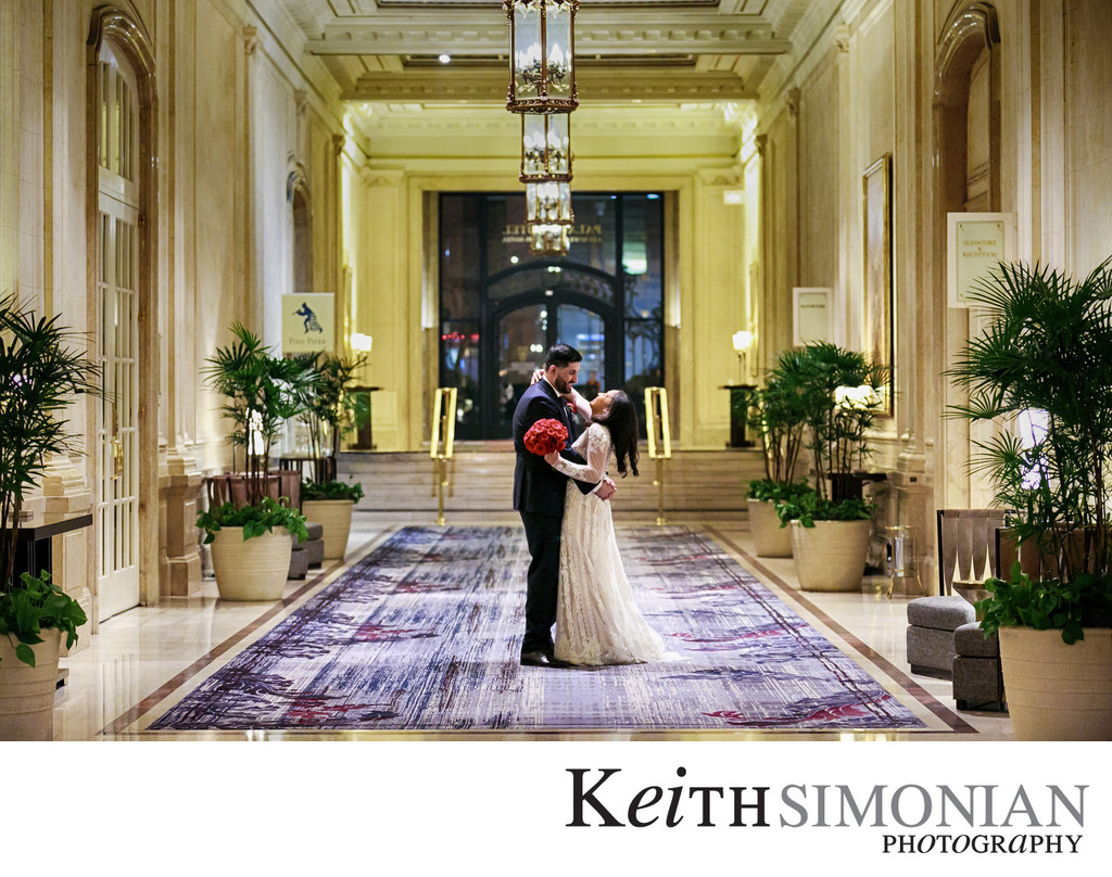 Palace Hotel Wedding Photographer