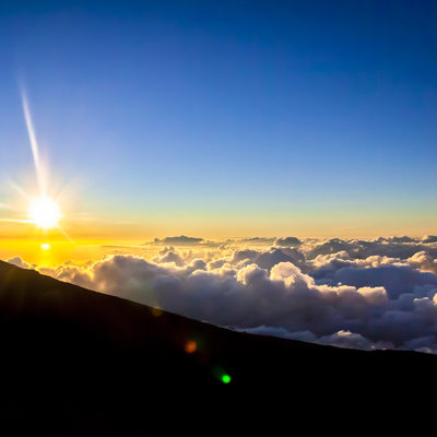 Haleakala Maui Summit Sunset