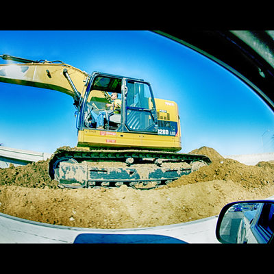 Construction on highway 4 in Antioch California