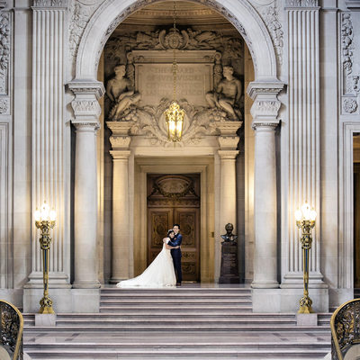 San Francisco City Hall Wedding -  The Rotunda