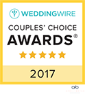 2017 WeddingWire Couples Choice Award
