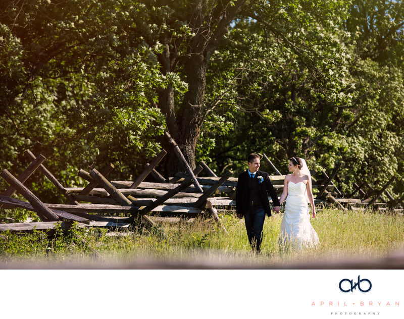 Gettysburg Battlefield Wedding Photographer