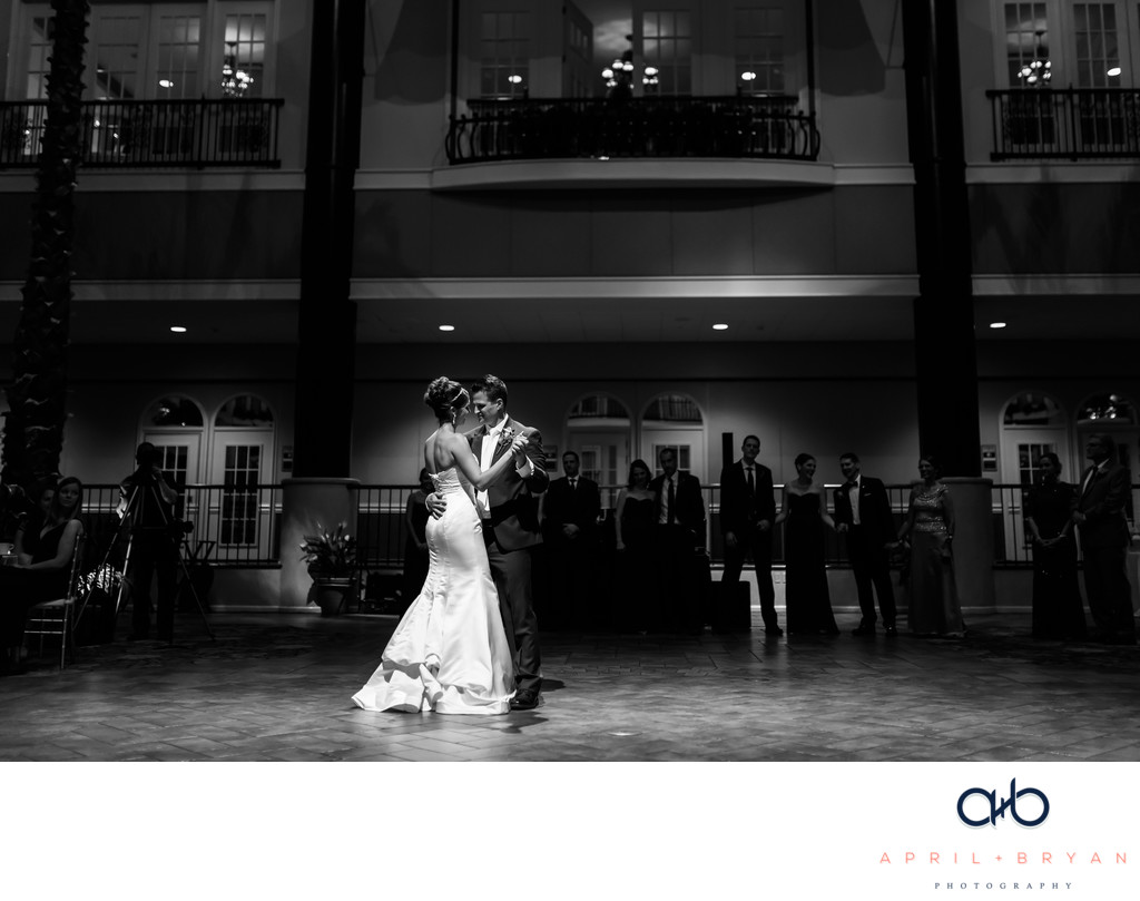 First Dance At The Doubletree Resort Lancaster