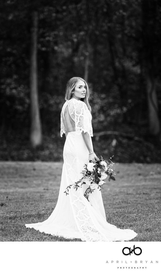 Lancaster County Central Park Bridal Portraits