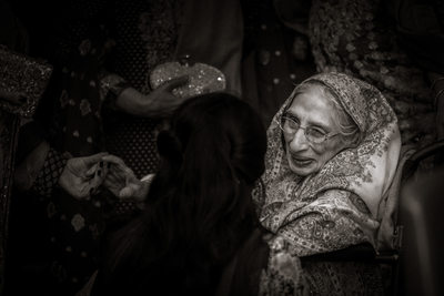 Old Pakistani Woman