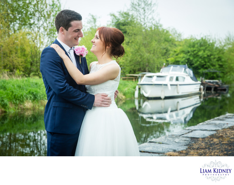 Mullingar Wedding Photography by the Canal
