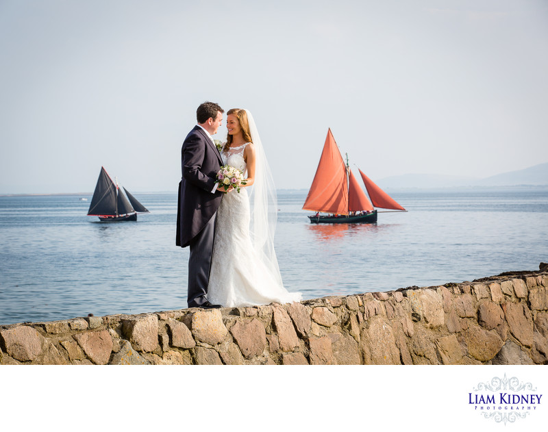 Galway Wedding Photography with Galway Hooker