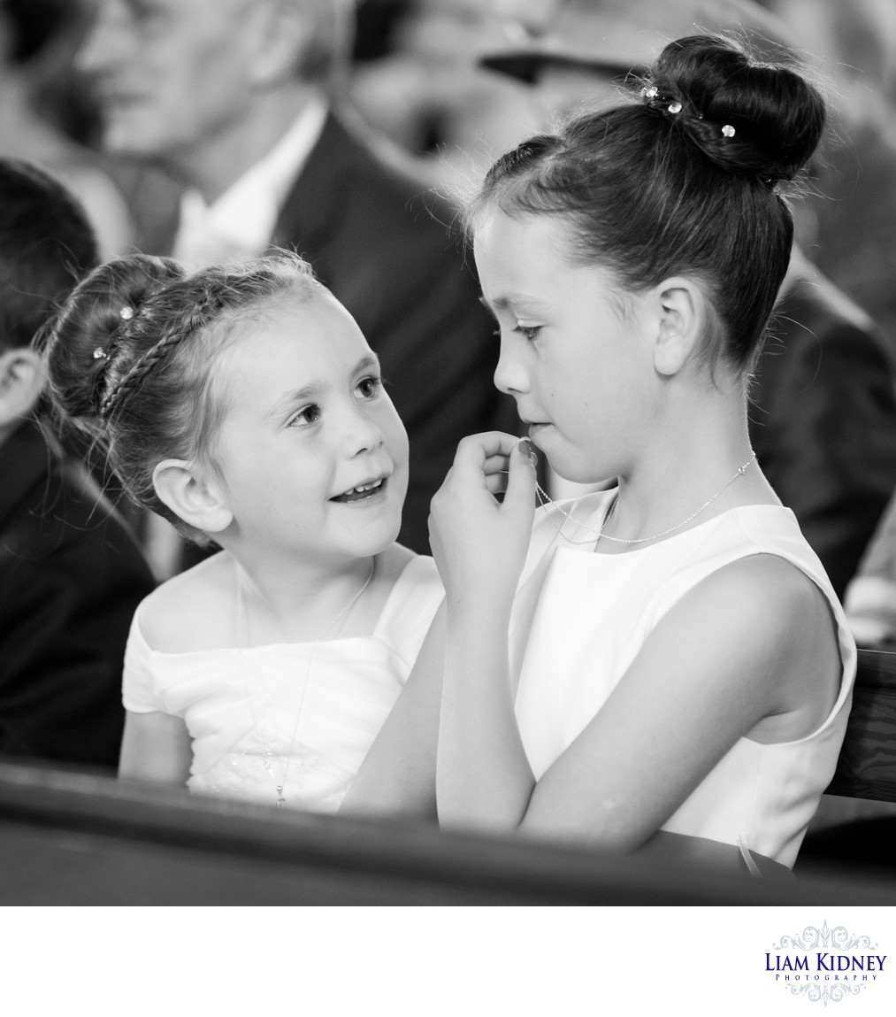 Flower Girls At Westmeath Wedding