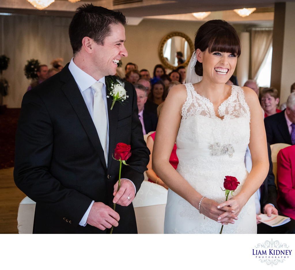 Happy Couple at Annebrook House Wedding Mullingar