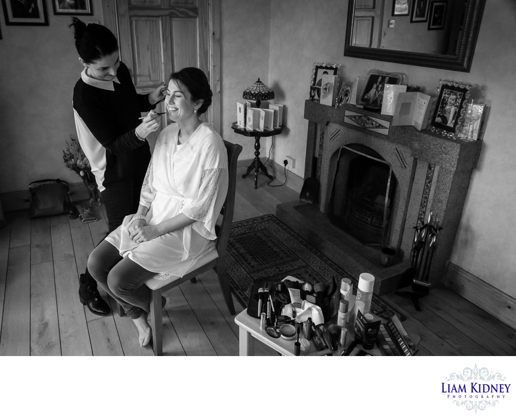Roscommon Wedding Day Prep Photos
