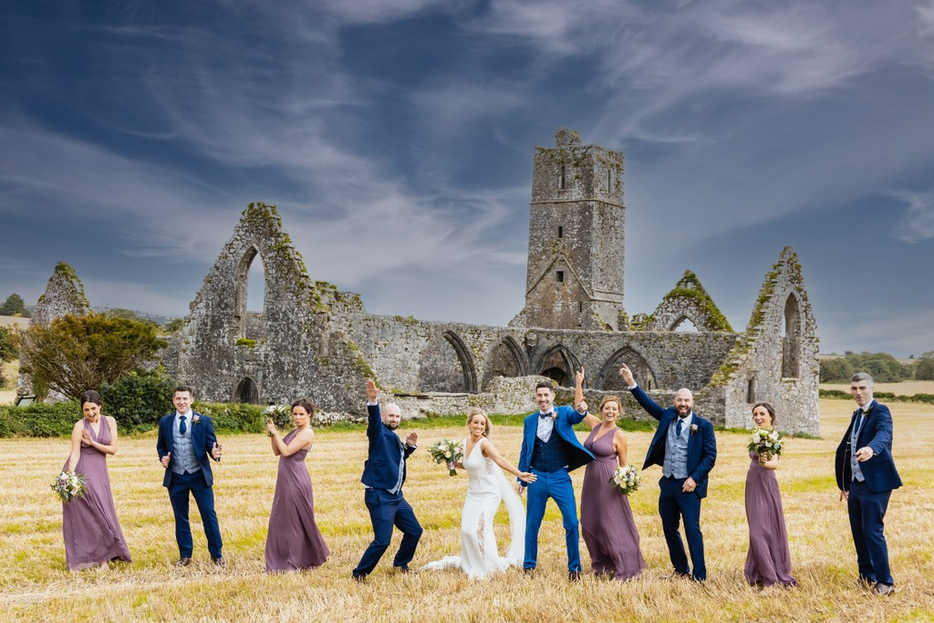 Fun Wedding Party Photography