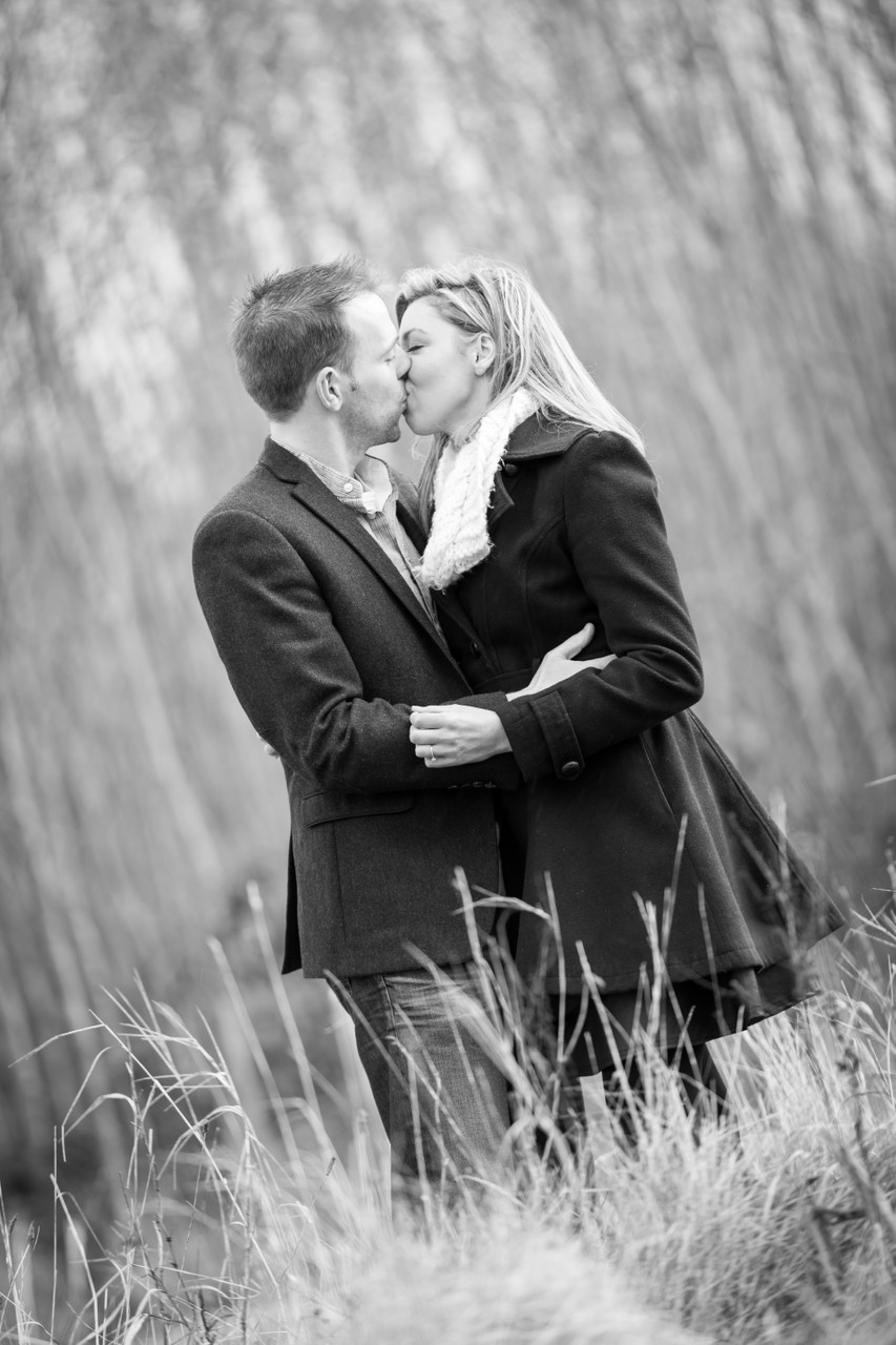 Portraits of Engaged Couple