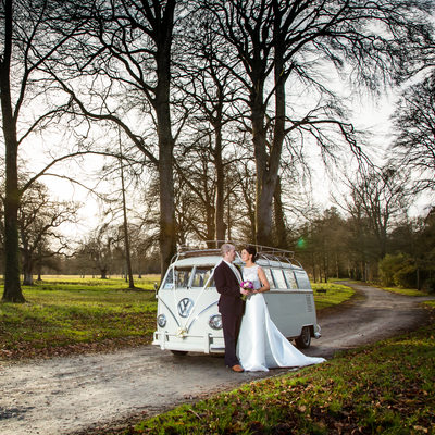 Couple with VW Van at Birr Castle