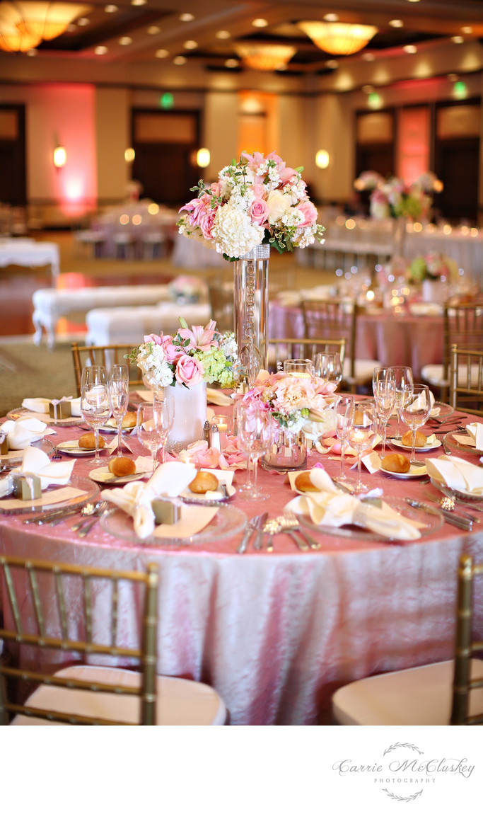 Rancho Bernardo Inn Ballroom Wedding Reception