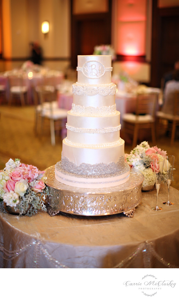 Ballroom Rancho Bernardo Inn Cake Photo