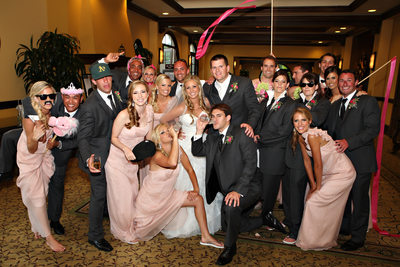 Rancho Bernardo Inn Wedding Party Photograph
