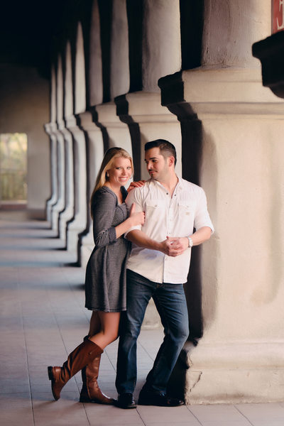 Balboa Park Engagement Photographer
