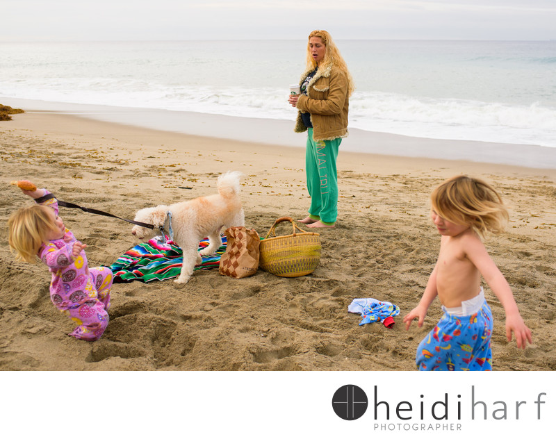 malibu family beach portraits heidi harf photographer