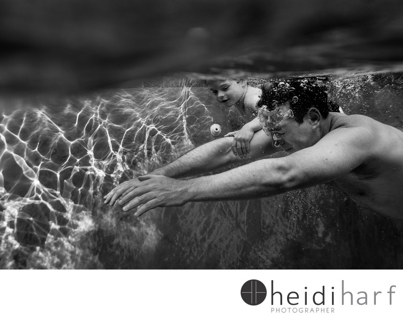 hamptons portraits underwater session- Southampton