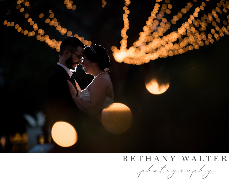 Wedding Photographer in St Augustine Nights of Lights