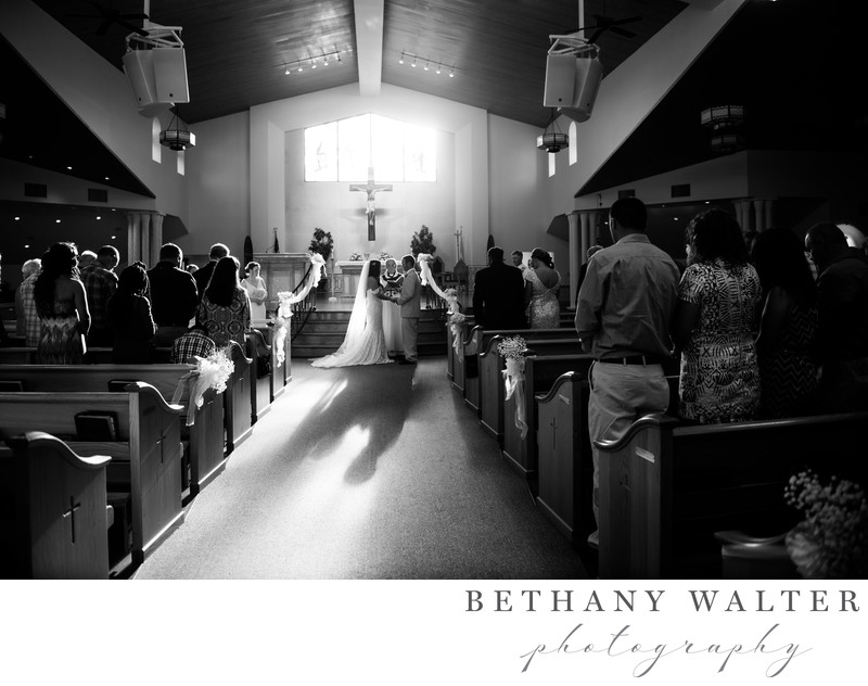 San Sebastian Catholic Church Wedding Ceremony