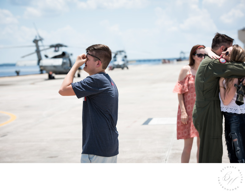 Emotional Military Homecoming at NAS Jax