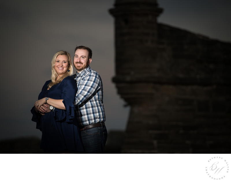 Engagement Session at Castillo de San Marco