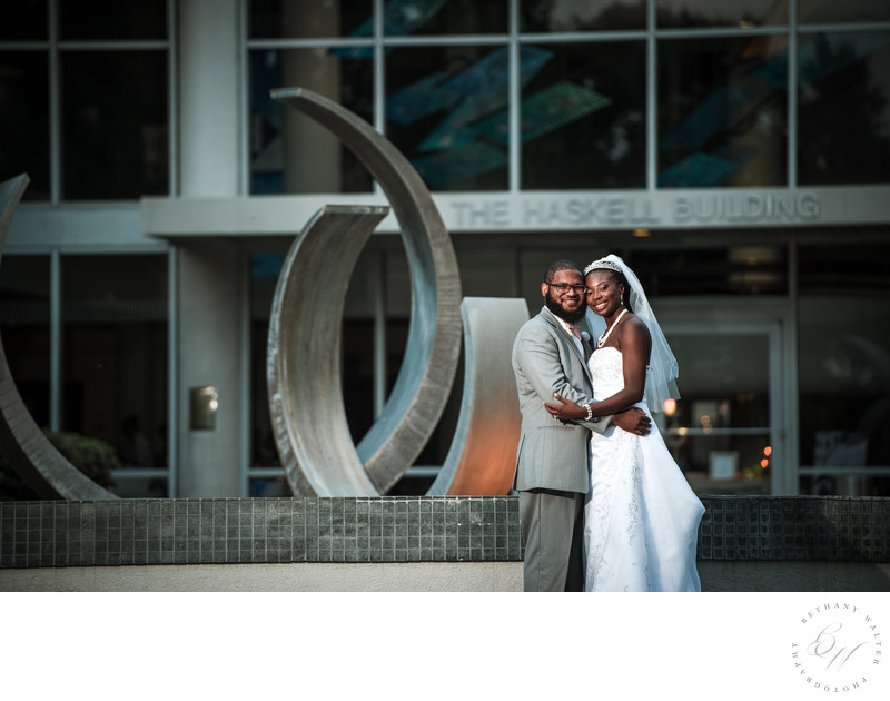 Jacksonville Wedding Photographer The Haskell Building