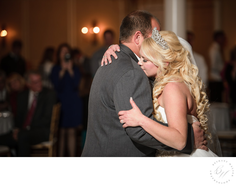 Bride and Groom's First Dance at The River House