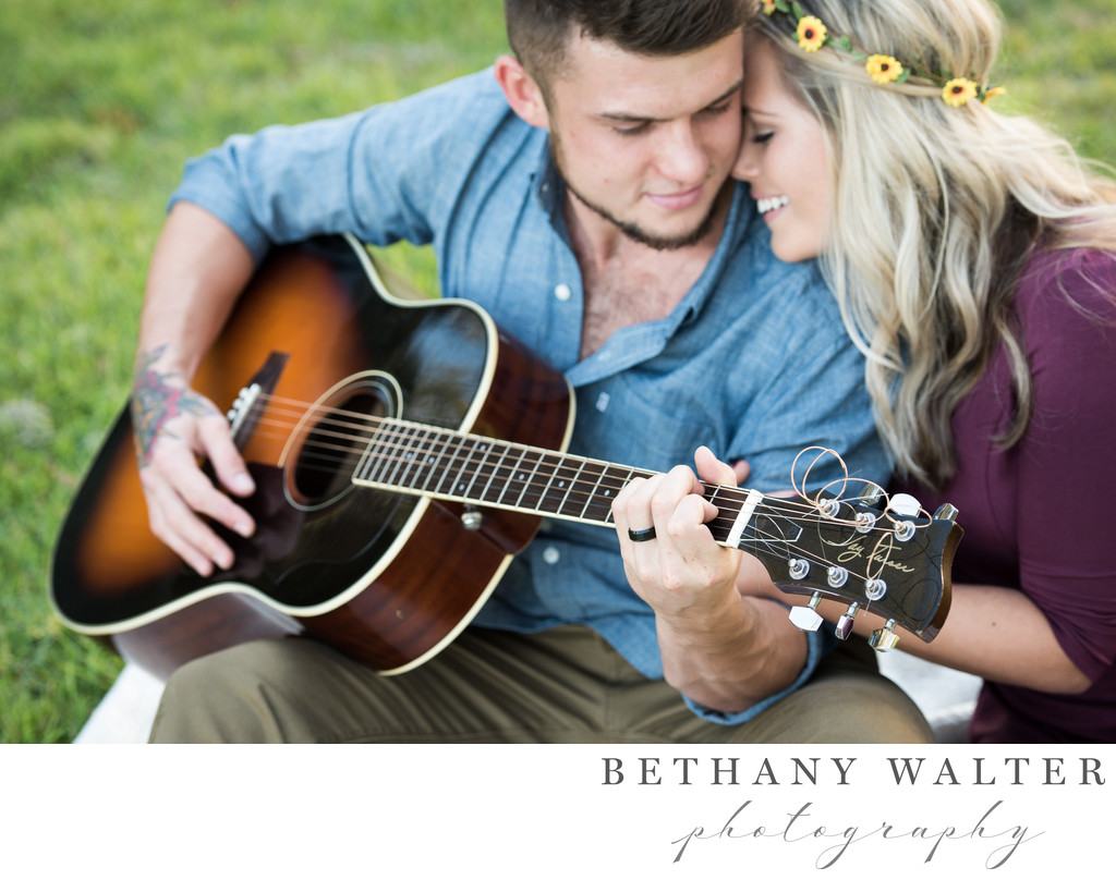 St Augustine Fall Engagement Session