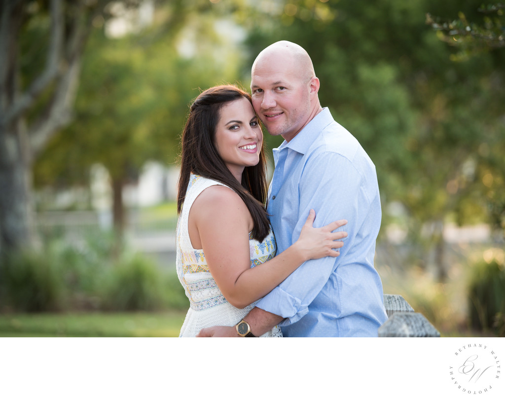 St Augustine Engagement Session at Slammer and Squire